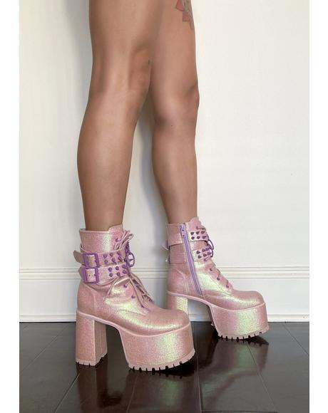 Tempo Tantrum Platform Boots