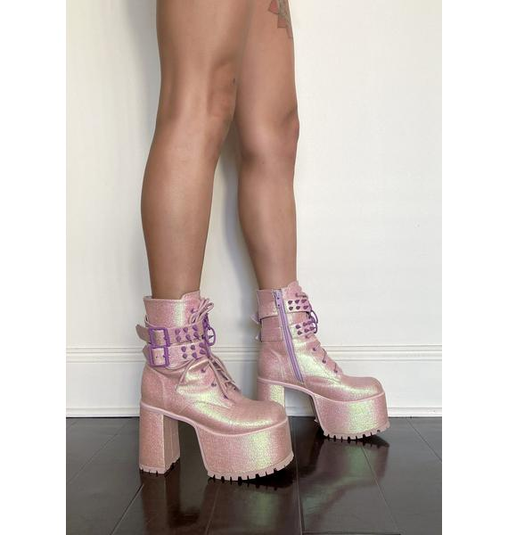 Sugar Thrillz Tempo Tantrum Platform Boots