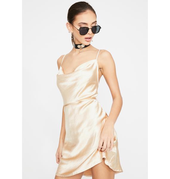 Motel Gold Paiva Mini Dress
