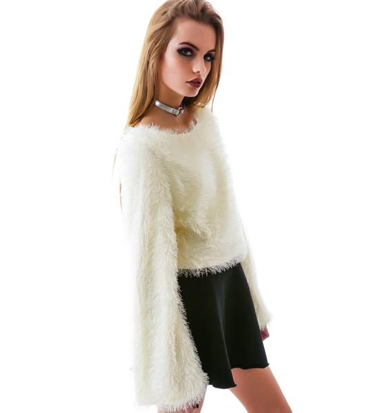 Fur Get About Ya Crop Top