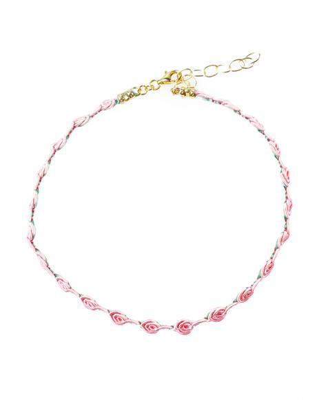 Pink Petal Choker