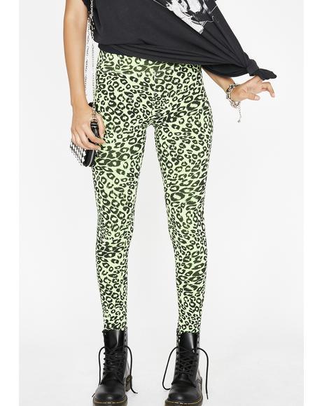 Sour Kitty Leopard Leggings