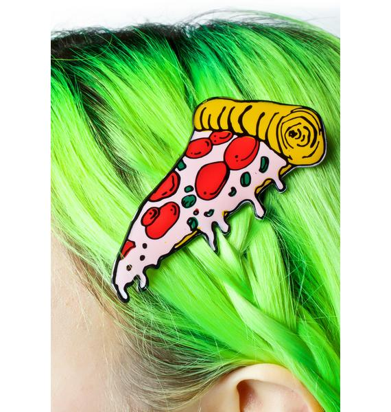 Cheap Monday Pizza Hair Clip