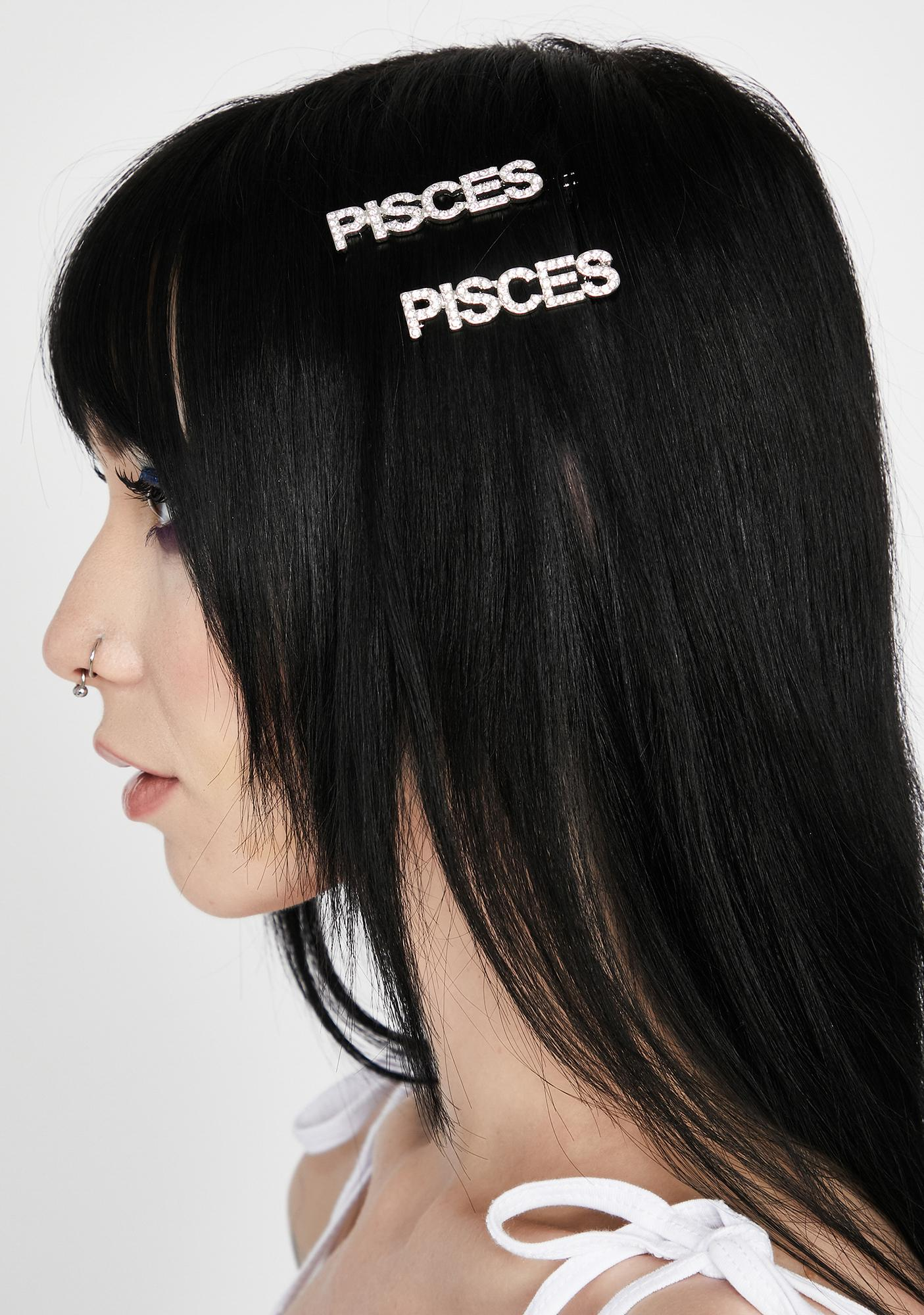 Positively Pisces Hair Pins