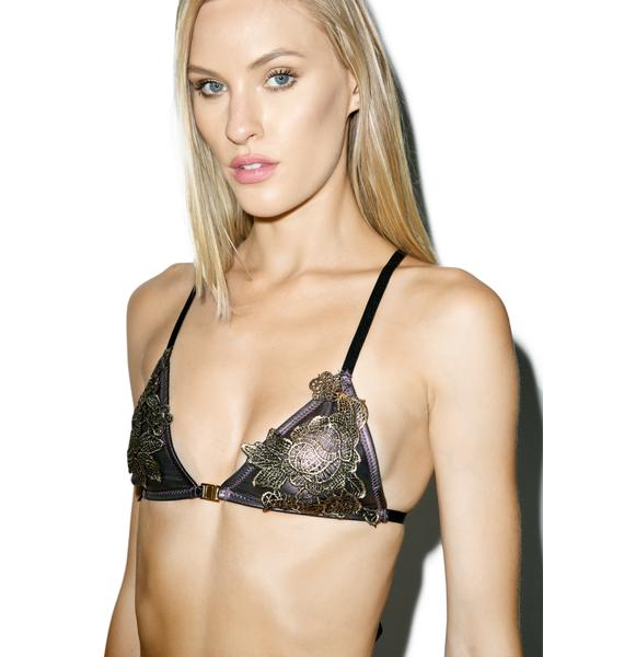 Faith Applique Bralette