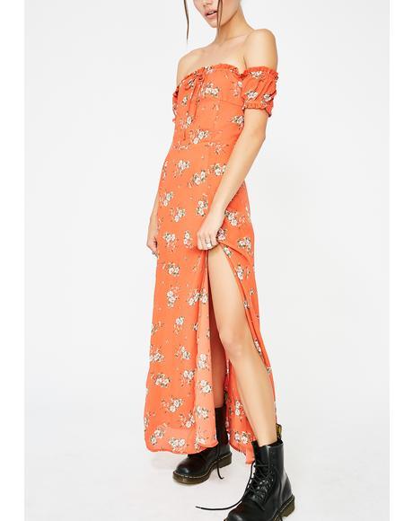 Wild N' Free Floral Maxi Dress