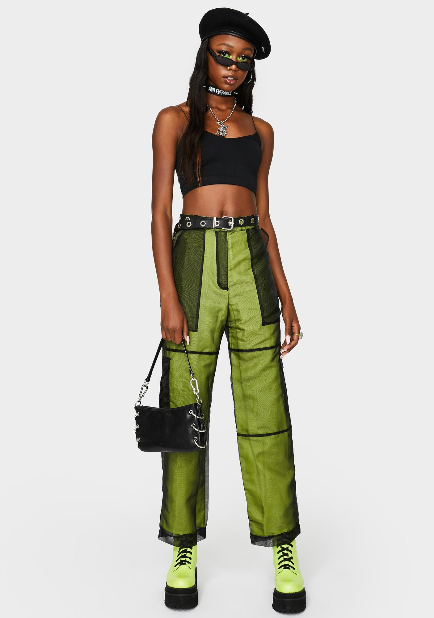 The Ragged Priest Challenger Organza Cargo Pants