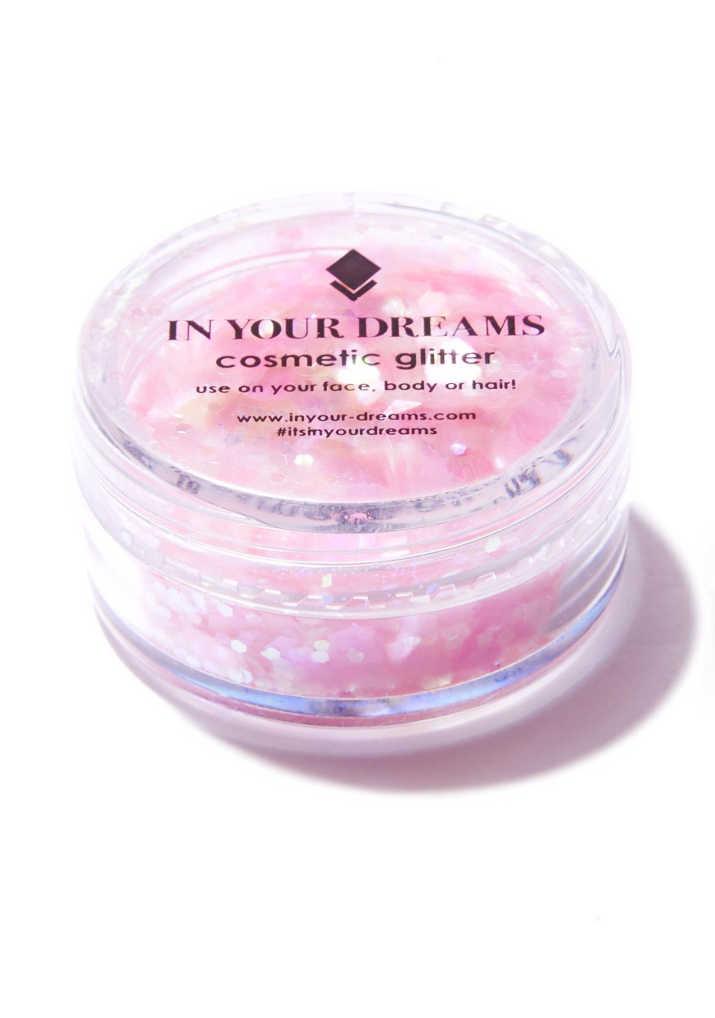 In Your Dreams Pink Flamingo Glitter