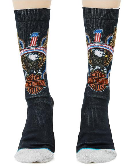 Freedom Machine Socks