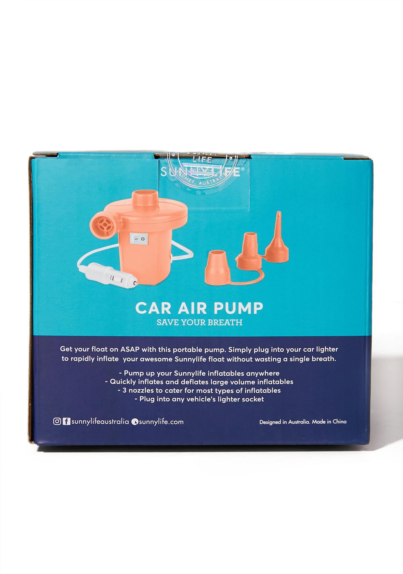 Hott Coral Inflatable Pump