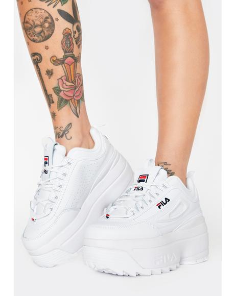 Disruptor 2 Wedge Sneakers