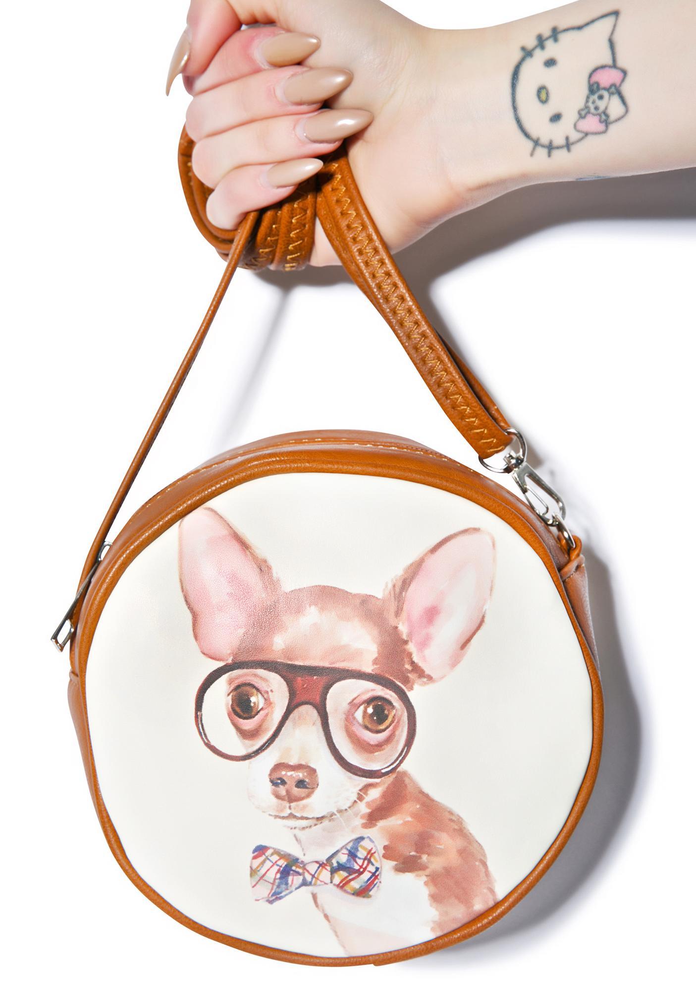 Nerdy Chihuahua Bag