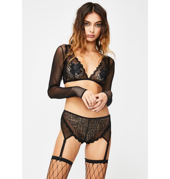 Sinful Delights Lace Lingerie Set