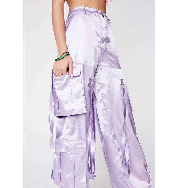 Illustrated People Lilac Octopus Trousers