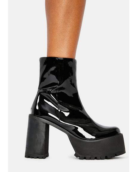 Strut The City Platform Boots