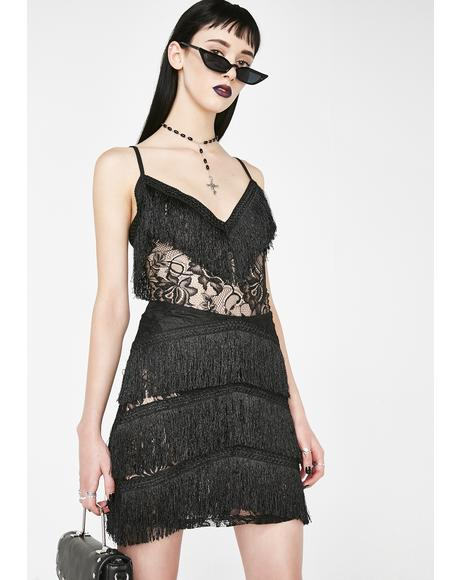 Gentleman Caller Fringe Dress