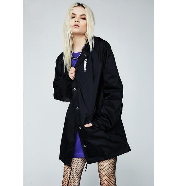 Obey Lonely Hearts Girl Coach Jacket