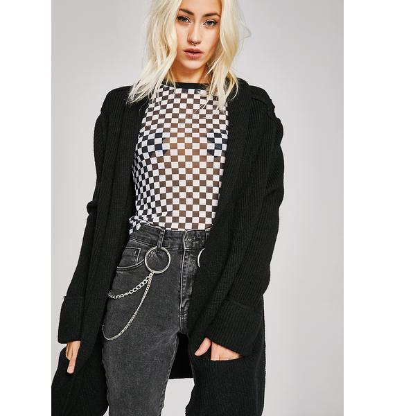 All Set Longline Cardigan