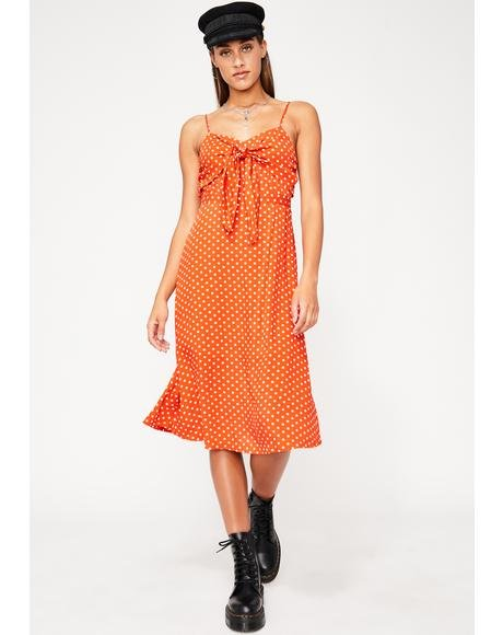 Bittersweet Lover Midi Dress
