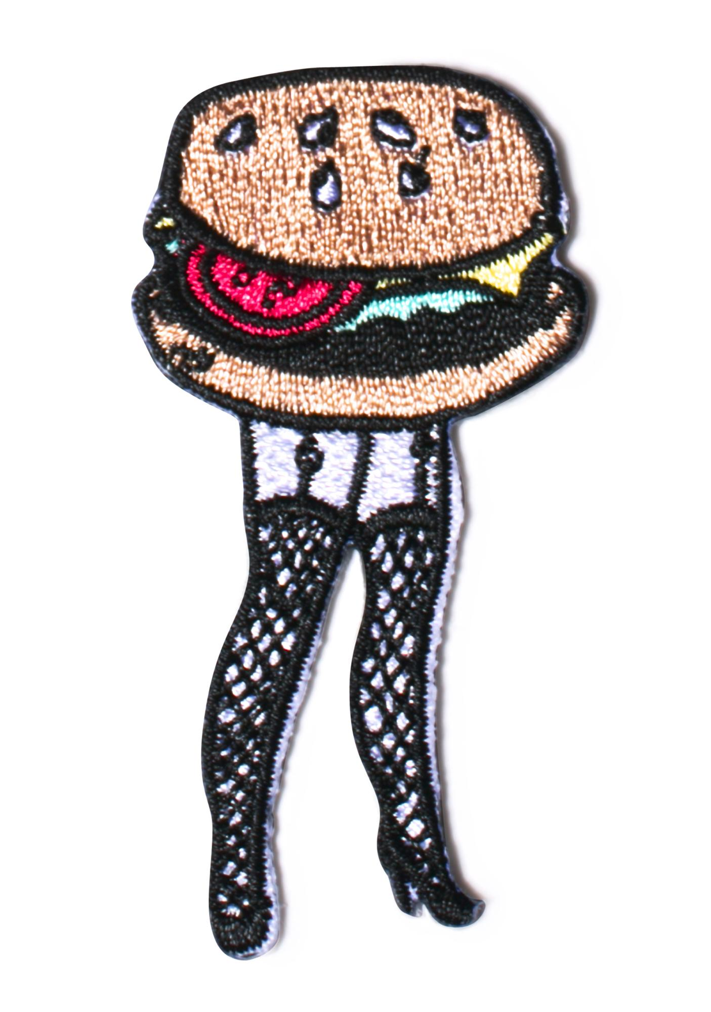 Valfré Cheeseburger Legs Patch