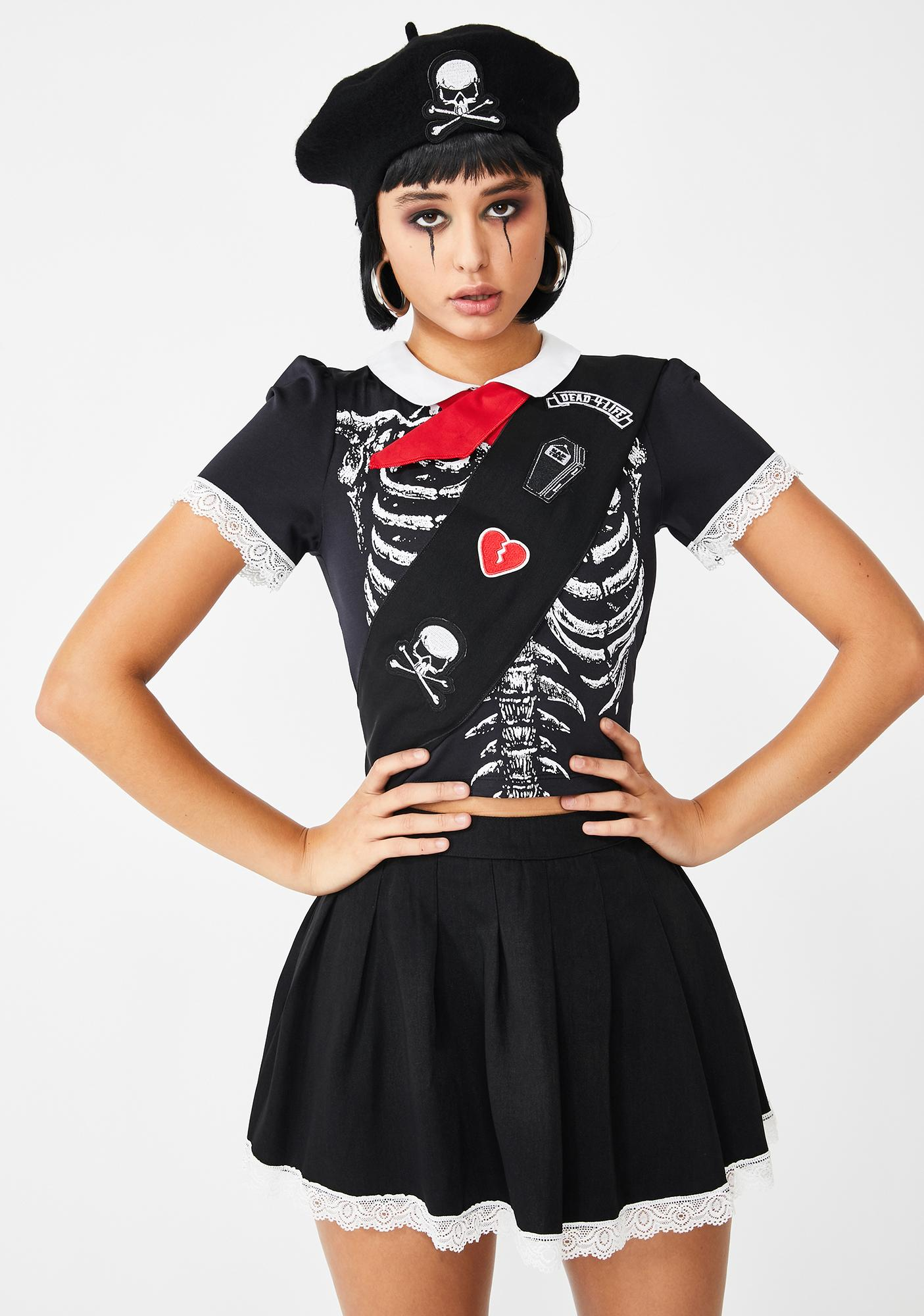 Dolls Kill Dead Scout Costume Set