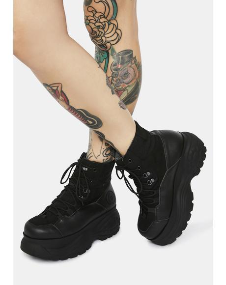 Cloud Sneaker Boots