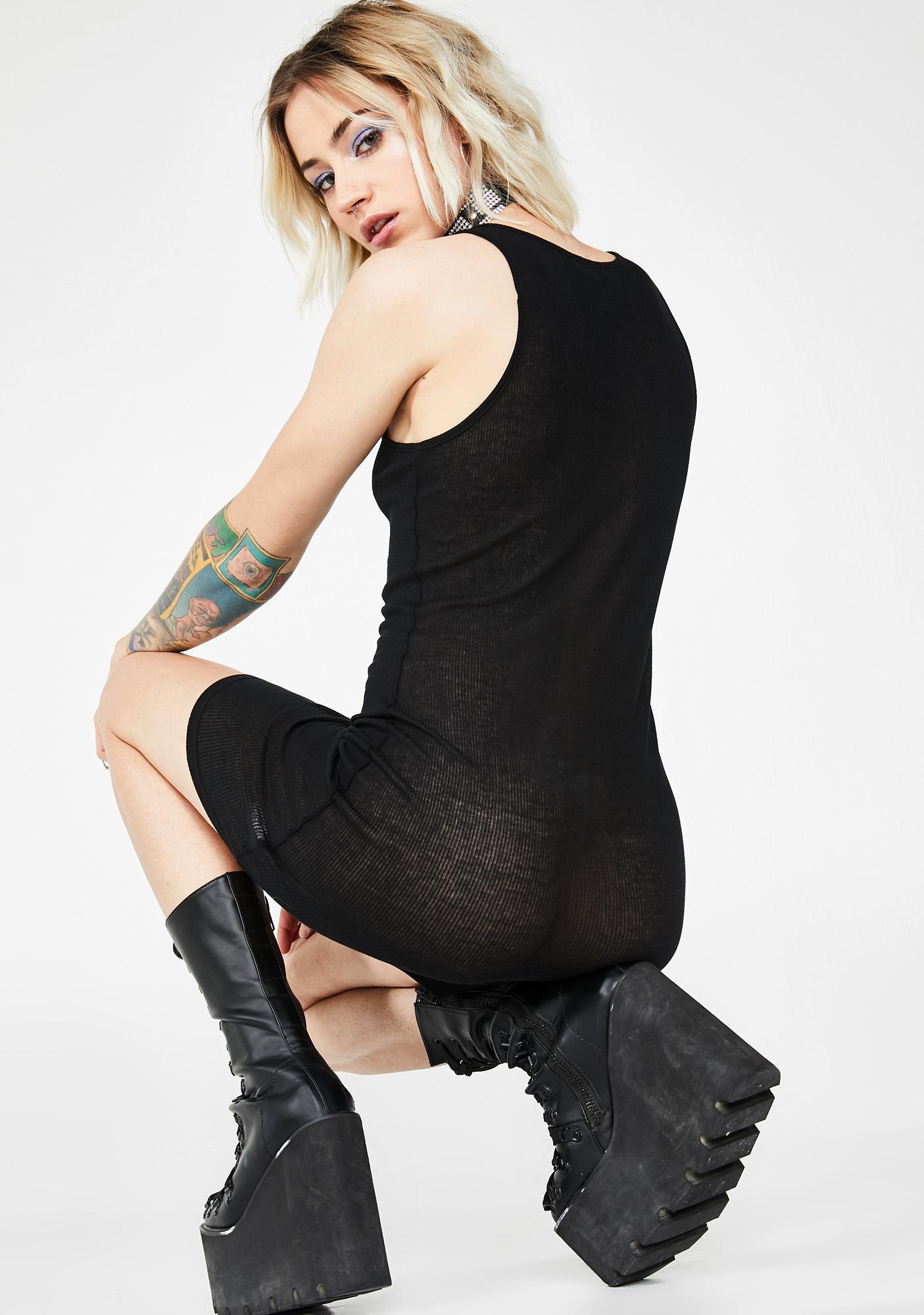 Club Exx Techno Sinner Bodycon Dress