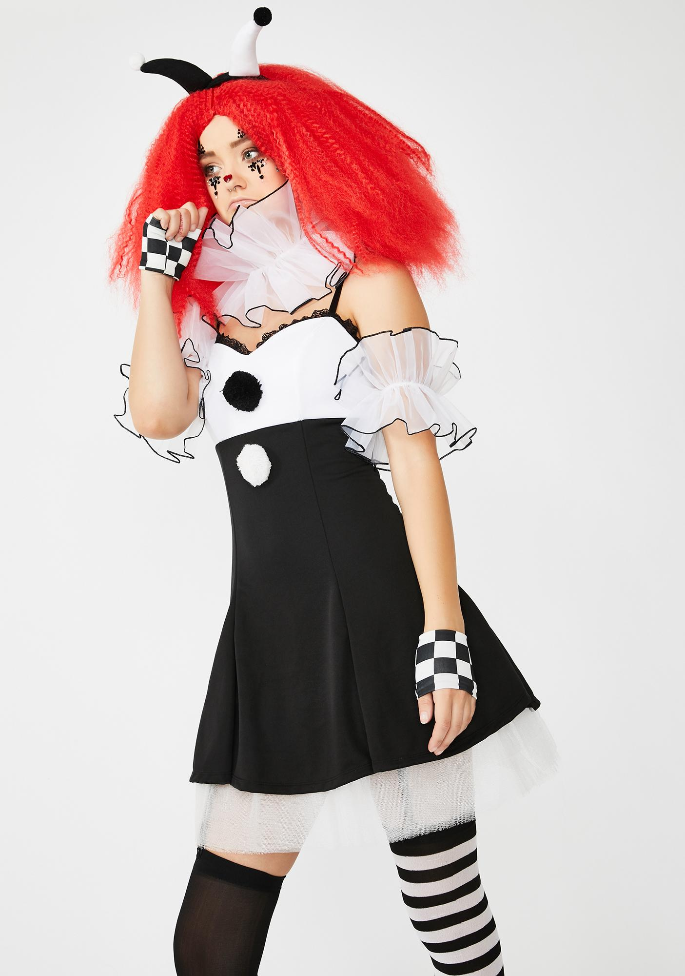 Dolls Kill Carnival Creep Costume Set