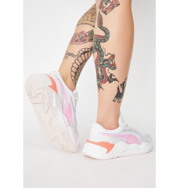 PUMA Rosewater RS-X3 Plas Tech Sneakers