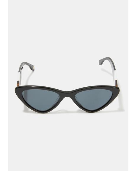 Lennox Black Smoke Sunglasses