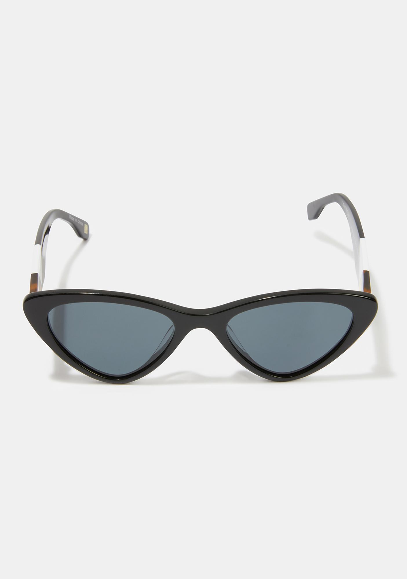 I-SEA Lennox Black Smoke Sunglasses