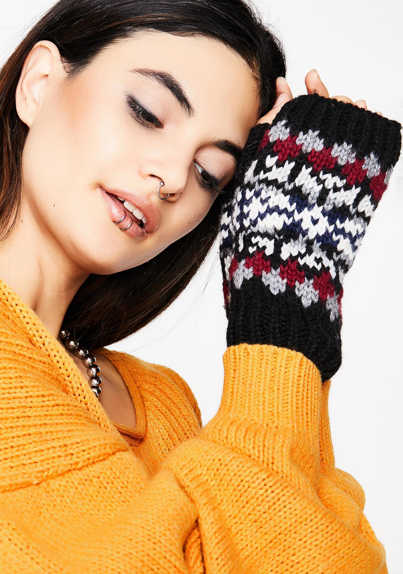 Ink Warmin' Up Fingerless Gloves