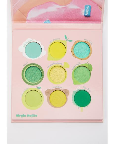 Juicy Nine Virgin Mojito Eyeshadow Palette