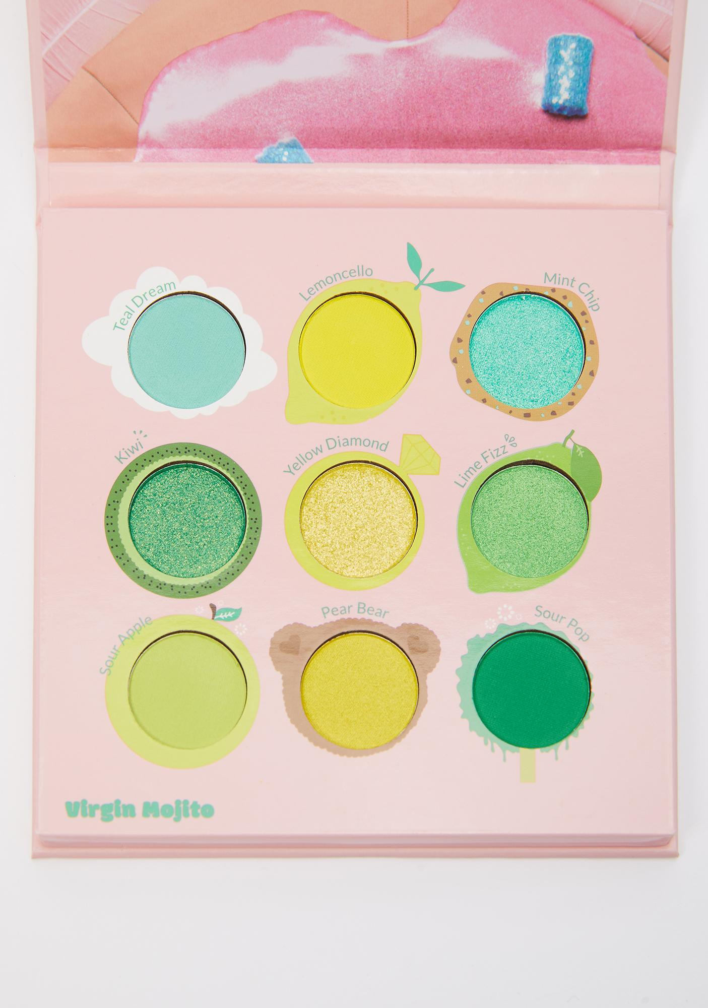KimChi Chic Beauty Juicy Nine Virgin Mojito Eyeshadow Palette