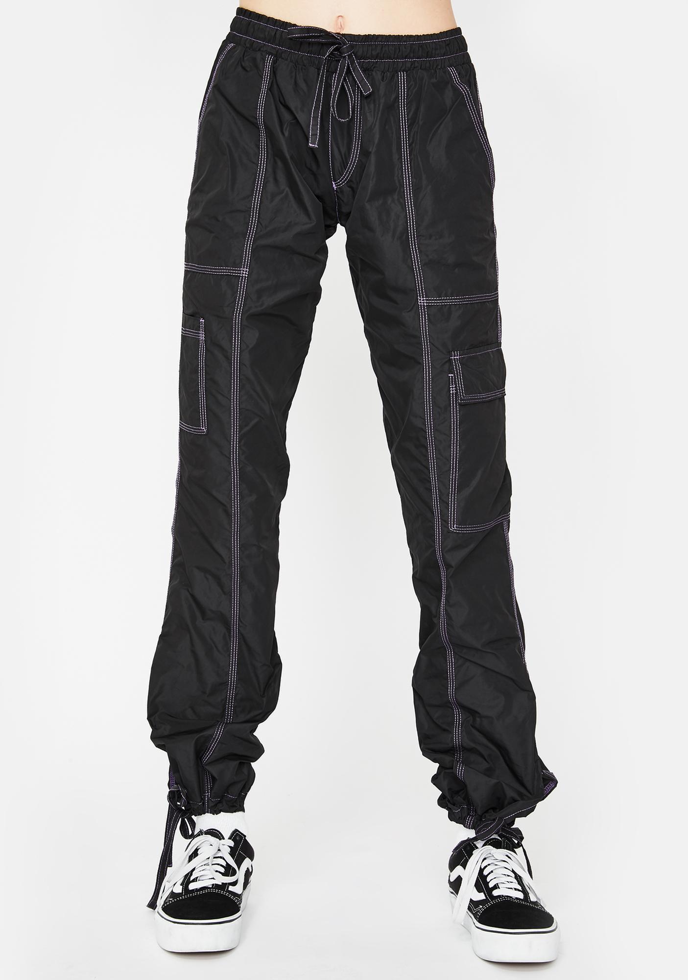 DOOM 3K Cyber Goth Cargo Pants