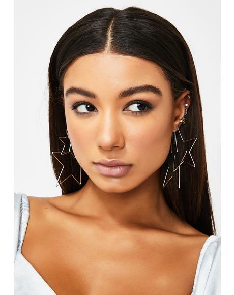 Miss Superstar Earring Set