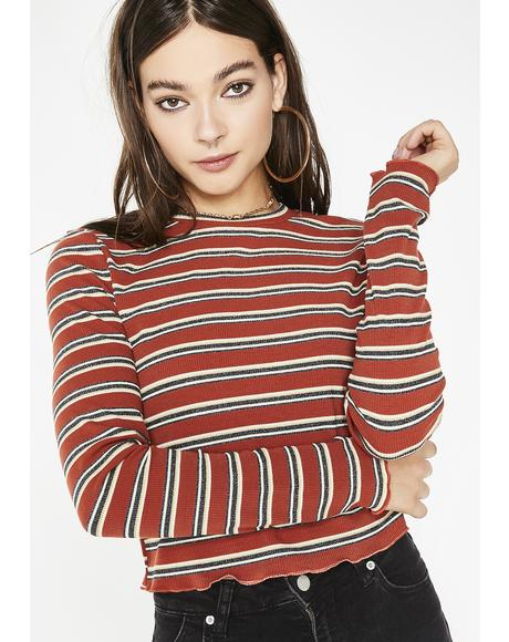 Best Ya Never Had Stripe Top