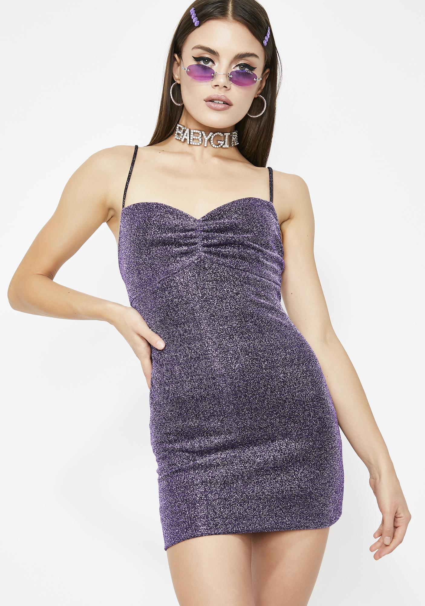 Drank Sunrise Dancer Shimmer Dress