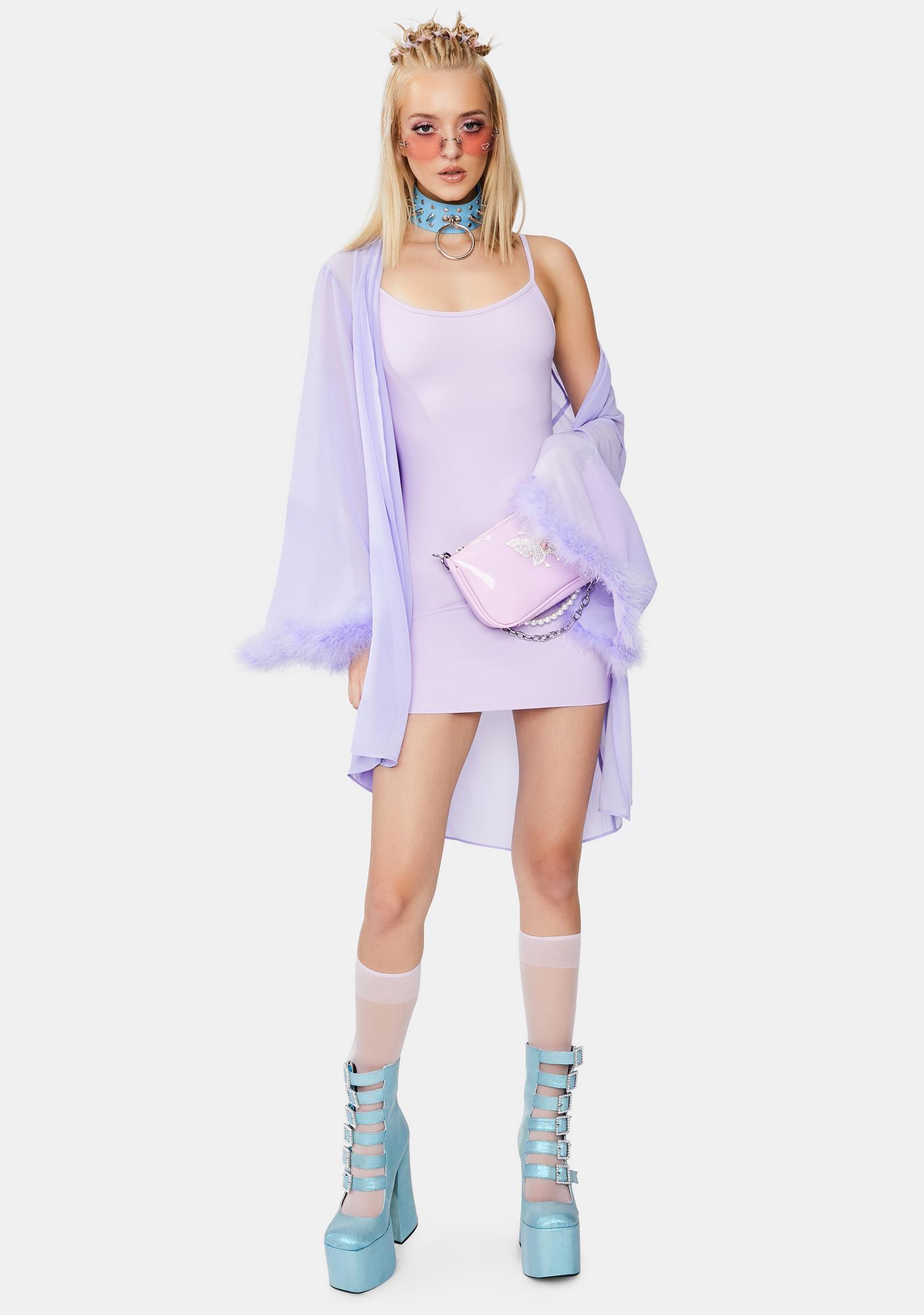 Kiki Riki Everything Luxurious Mini Dress