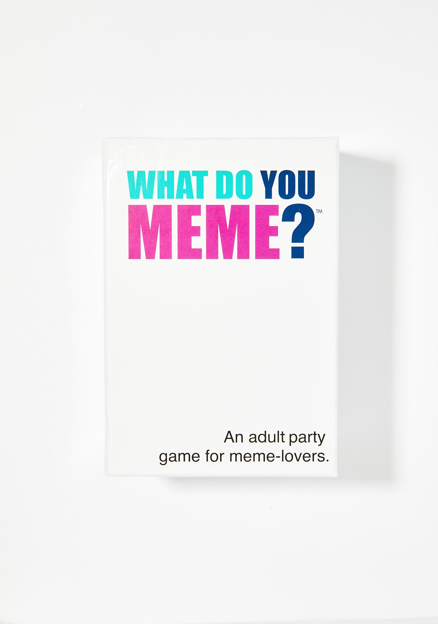 What Do You Meme? What Do You Meme? Card Game