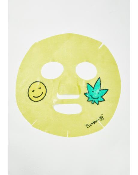 Light Up, Skin! Animated Smile Face Mask
