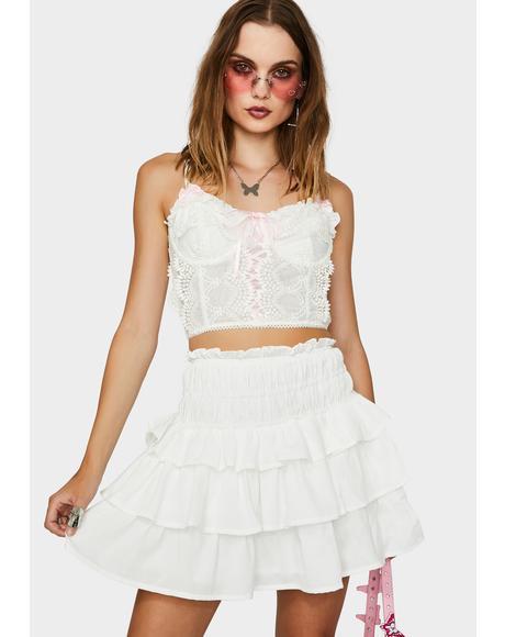 Ballerina Boheme Ruffle Skirt