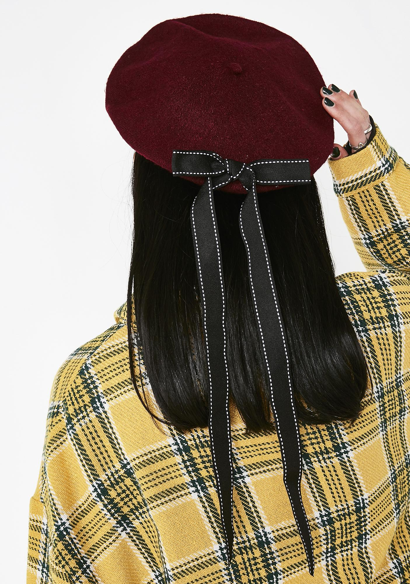 Honor Bound Bow Beret