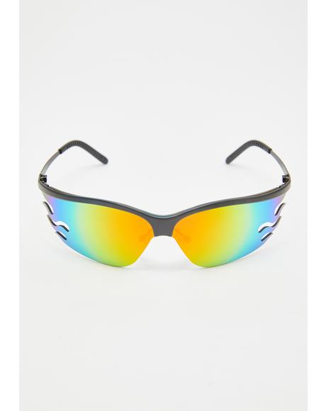 Fire OG Rainbow Sunglasses