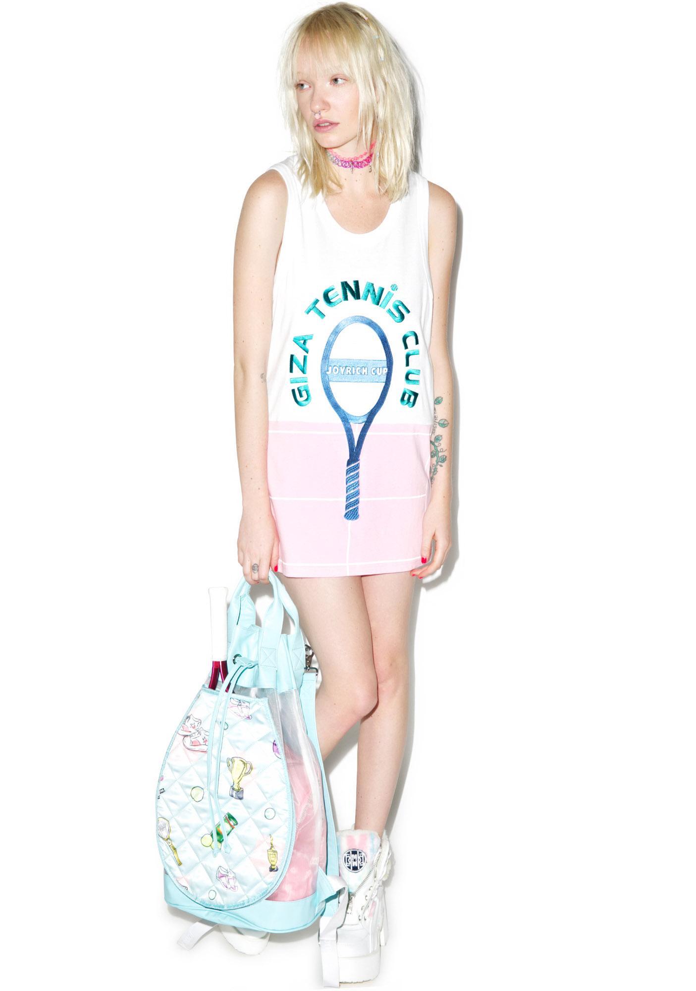 Joyrich X GIZA Tennis Court Tank