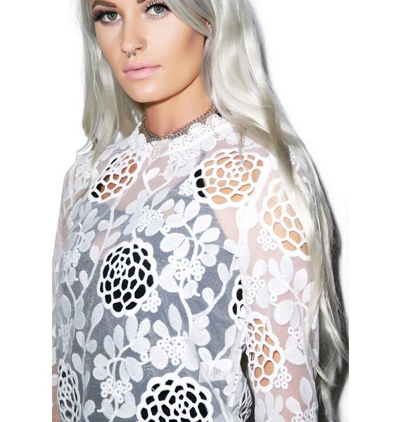 Bloomy Daze Lace Top