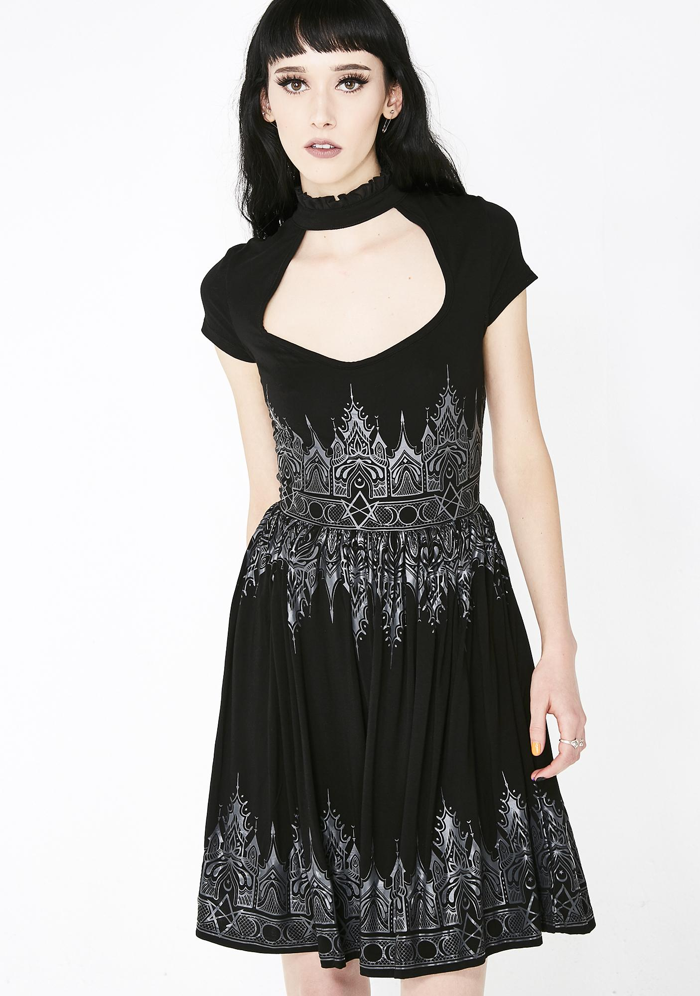 de070bf4575 Killstar Dutchess Skater Dress