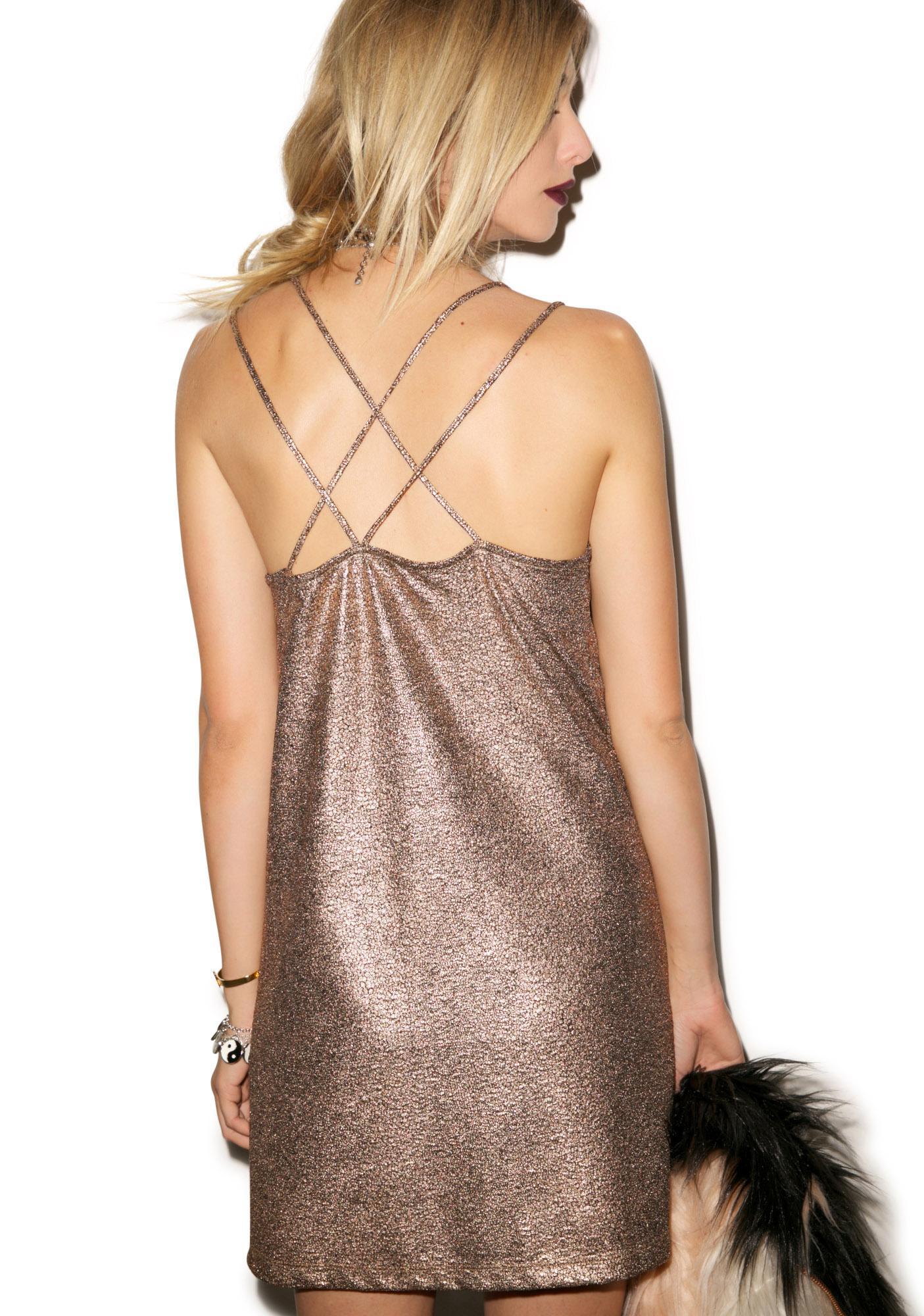 Motel Swallowtail Dress