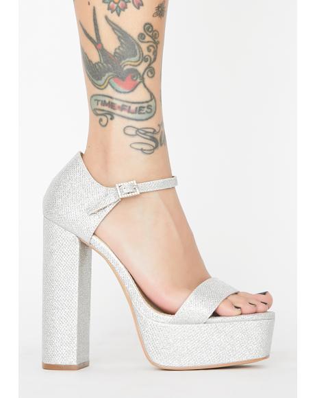 Babydoll Bubble Platform Heels