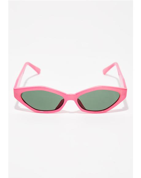 Sugar Stop N' Stare Oval Sunglasses